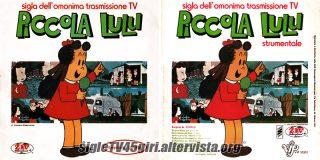 Piccola Lulu disco vinile 45 giri