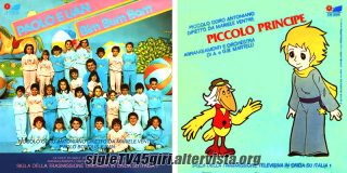 Paolo e Uan Bim Bum Bam / Piccolo principe disco vinile 45 giri