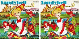 Sandybell disco vinile 45 giri