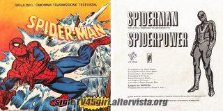 Spiderman / Spiderpower disco vinile 45 giri