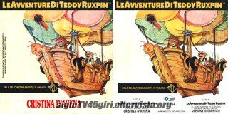 Le avventure di Teddy Ruxpin disco vinile 45 giri