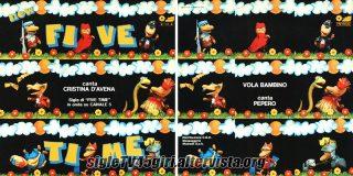New Five Time / Vola bambino disco vinile 45 giri