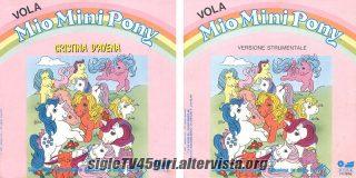 Vola Mio Mini Pony disco vinile 45 giri